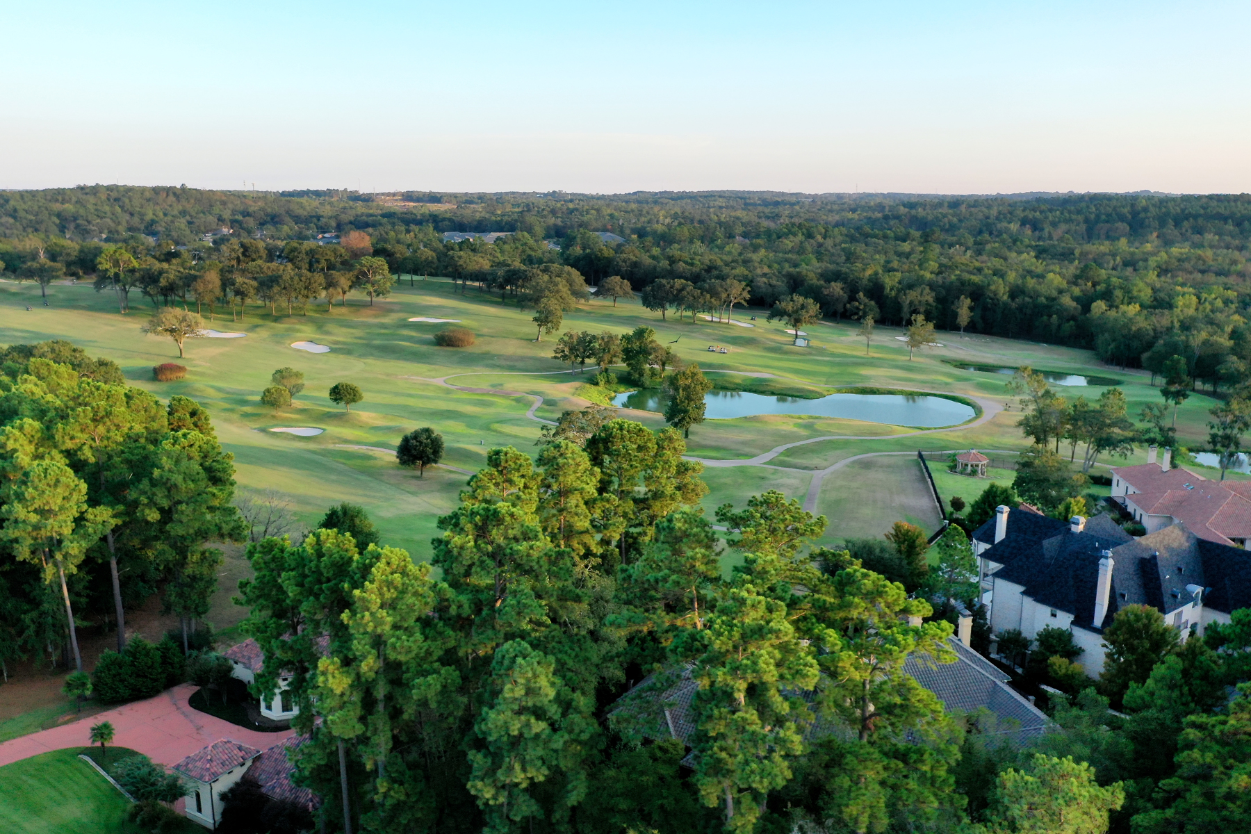 luxury golfing community in Tyler, Texas